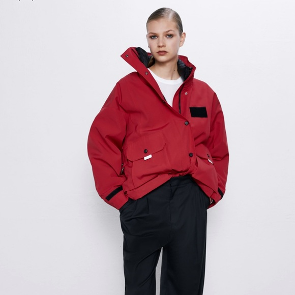 Zara Jackets & Blazers - Zara 2 IN 1 DOWN JACKET